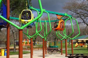 L'Hélicodélire, la nouvelle attraction du parc de loisirs Le P'tit Délire