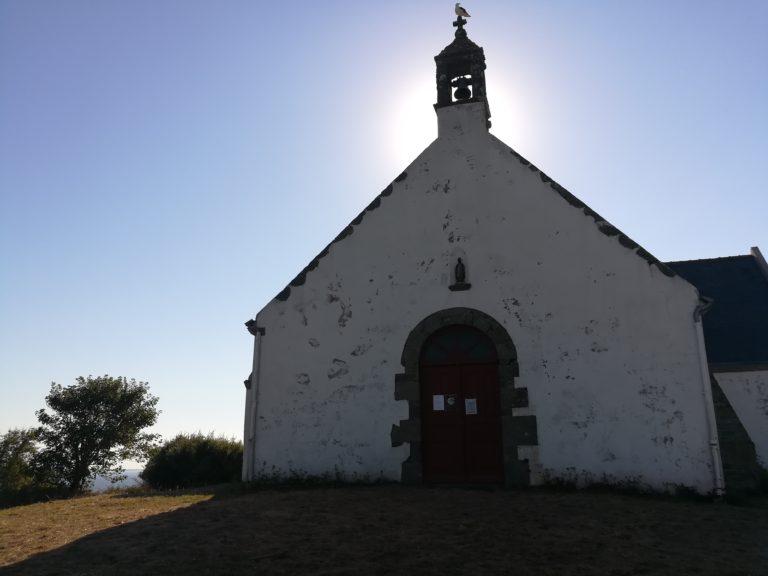 chapelle saint léonard sur l'ile de Groix