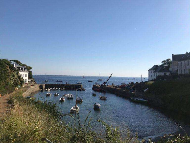 petit port sur l'ile de groix - port lay