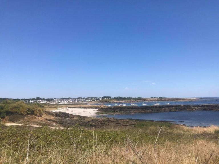 le petit village de locmaria sur l'ile de Groix